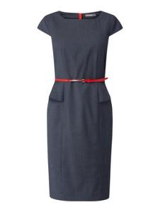 Sukienka Jake*s Collection z krótkim rękawem baskinka