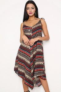 Sukienka Next Trend mini z dekoltem w kształcie litery v