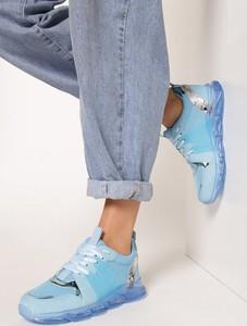 Buty sportowe born2be sznurowane z płaską podeszwą