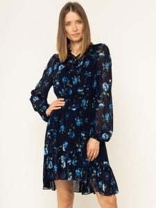 Sukienka Kooples X Sport z długim rękawem w stylu casual mini