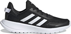 Czarne buty sportowe dziecięce Adidas dla chłopców sznurowane