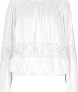 Bluzka Guess z długim rękawem w stylu boho