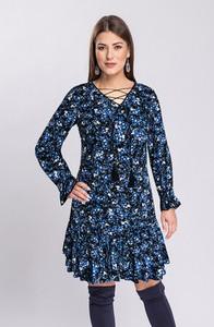 Sukienka Semper z tkaniny