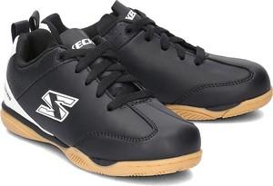Czarne buty sportowe dziecięce Skechers sznurowane
