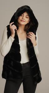 Czarna kamizelka JK Collection w stylu casual