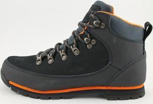 Granatowe buty trekkingowe McArthur sznurowane z płaską podeszwą