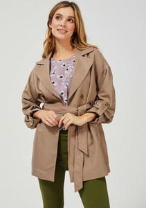 Brązowy płaszcz Moodo