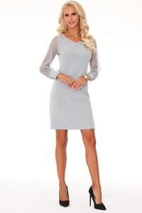 Sukienka MERRIBEL z długim rękawem ołówkowa