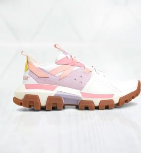 Buty sportowe Caterpillar z płaską podeszwą sznurowane
