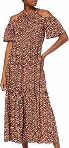 Sukienka amazon.de w stylu boho z dekoltem halter