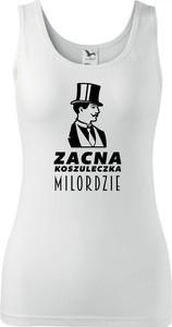 Top TopKoszulki.pl z okrągłym dekoltem z bawełny