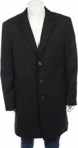 Czarny płaszcz męski Tom Tailor