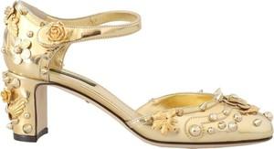 Czółenka Dolce & Gabbana na wysokim obcasie