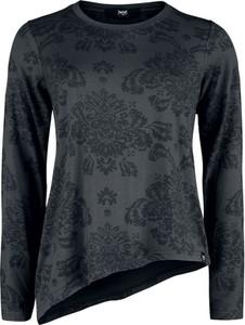 Bluzka Emp z okrągłym dekoltem z długim rękawem