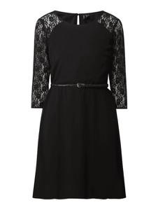 Sukienka Vero Moda z szyfonu z długim rękawem