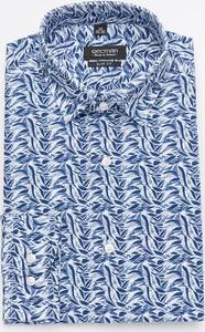 Niebieska koszula Recman w młodzieżowym stylu