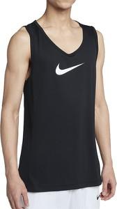 Czarny t-shirt Nike w sportowym stylu