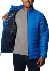 Niebieska kurtka Columbia w stylu casual krótka