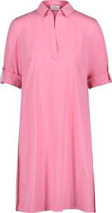 Różowa sukienka Vera Mont w stylu casual