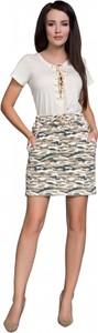 Spódnica Senella w stylu casual mini z dzianiny