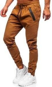 Spodnie Denley z tkaniny