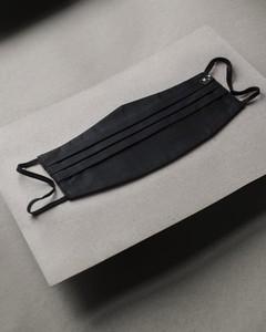 Maskka Bawełniana maska czarna Canvas czarny Bawełna 100