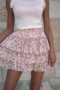 Spódnica Popatu z bawełny mini