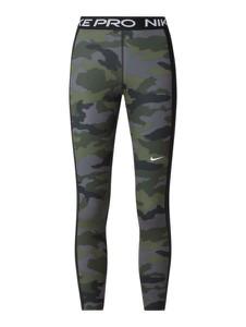 Zielone spodnie Nike w sportowym stylu z dresówki