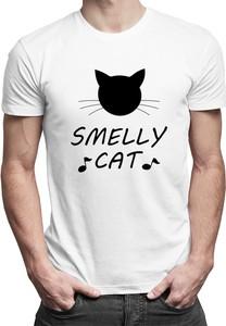 T-shirt Koszulkowy z nadrukiem z bawełny