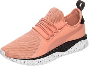 Pomarańczowe buty sportowe Puma sznurowane
