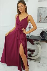Sukienka fashion-freak.pl z dekoltem w kształcie litery v