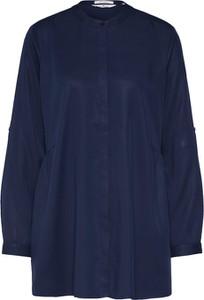 Niebieska bluzka Tom Tailor z długim rękawem