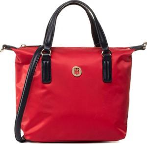 Czerwona torebka eobuwie.pl matowa duża w stylu casual