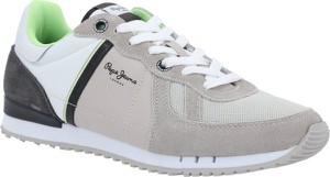 Pepe Jeans London Sneakersy TINKER ZERO | z dodatkiem skóry