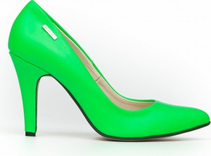Szpilki Zapato z nadrukiem