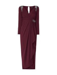 Sukienka Lipsy maxi kopertowa z dekoltem w kształcie litery v