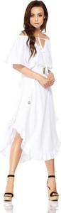 Sukienka Lemoniade z długim rękawem midi hiszpanka