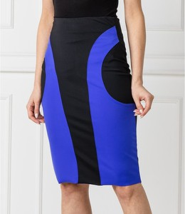 Niebieska spódnica Silvian Heach midi