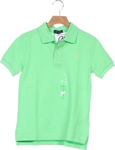 Zielona koszulka dziecięca Ralph Lauren dla chłopców