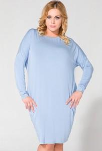 Niebieska sukienka Tessita