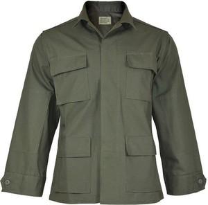 Zielona bluza Teesar z tkaniny