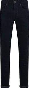 Czarne spodnie Boss ze sztruksu