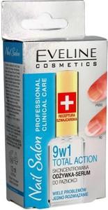 Eveline Nail Salon odżywka serum do paznokci 9w1 Total Action 12 ml