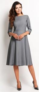 Sukienka Awama midi w stylu klasycznym