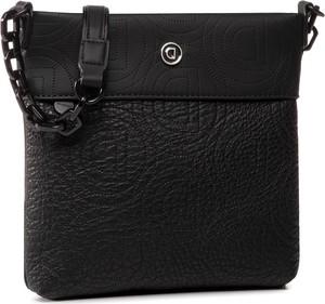 Czarna torebka Desigual na ramię średnia matowa