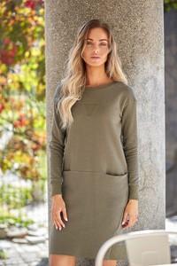 87425bb822 długa prosta sukienka. - stylowo i modnie z Allani