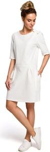 Sukienka MOE z dresówki mini