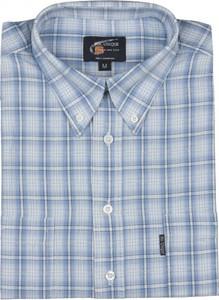 Niebieska koszula Mr.unique z kołnierzykiem button down w stylu casual
