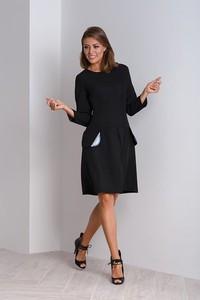 czarne sukienki duże rozmiary - stylowo i modnie z Allani 2857703846a