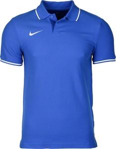 Niebieska koszulka polo Nike